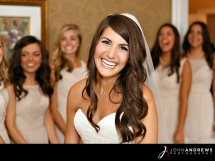 Bride and Wedding Party in Color