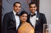 Groom, Groomsman, & Mother of the Groom